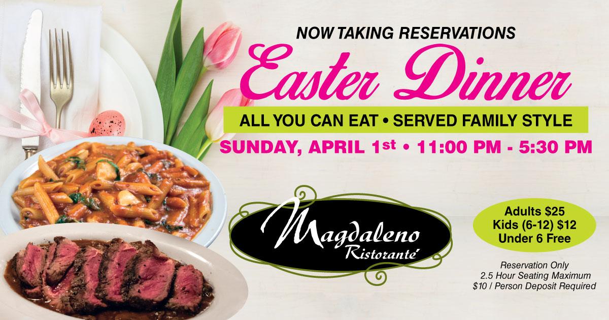 Easter Reservations Magdalenos2